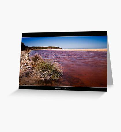 Saltwater nsw Australia 01 Greeting Card