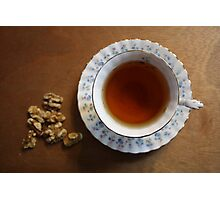Tea time and snacks Photographic Print