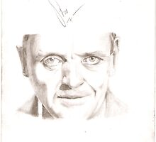 Hannibal Lecter by stoophilpott
