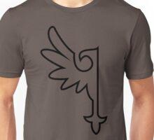 Black One-Winged Eagle Unisex T-Shirt