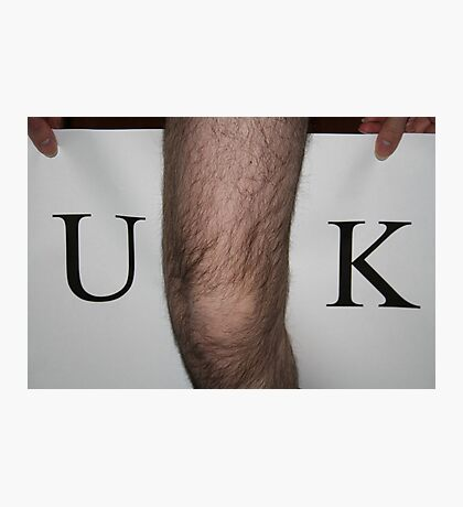 U-knee-k (unique) Photographic Print