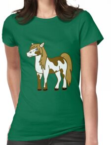 Painted Horse Womens Fitted T-Shirt