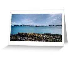 Sydney Foreshore Panoramic Greeting Card