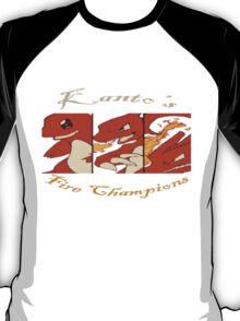Kanto's Fire Champions T-Shirt