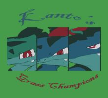 Kanto's Grass Champions Kids Clothes