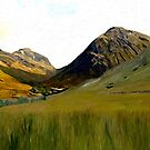 Glen Coe by artbyjames