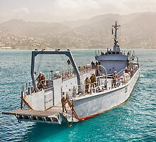 Lebanese Amphibious Transport Ship by Joshua McDonough