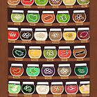 My Spiffy Spice Shelf by Joumana Medlej