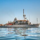USS Gladiator (MCM 11) - Mine Countermeasures Ship by Joshua McDonough