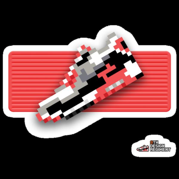 8-bit Air Max 90 Sticker by 9thDesignRgmt