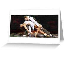 Flavia & Vincent Greeting Card