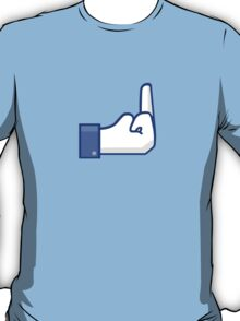 Facebook finger T-Shirt