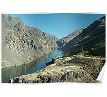 Snake River, Oregon Poster