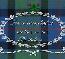 Mother Birthday Card by Vickie Emms