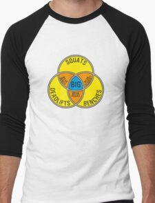 Deadlift Bench Squat (G rated) Men's Baseball ¾ T-Shirt