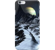 Track Across the Badlands iPhone Case/Skin