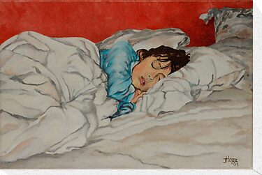 Sleeping Girl by JolanteHesse