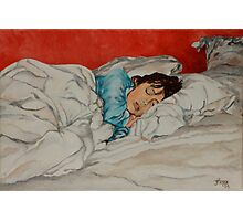 Sleeping Girl Photographic Print