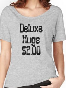 Deluxe Hugs $2 Women's Relaxed Fit T-Shirt