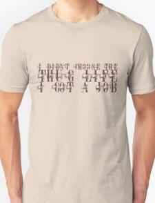 I didn't choose the thug life, I got a job T-Shirt