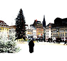 Strasbourg - here we are in Christmas land Photographic Print