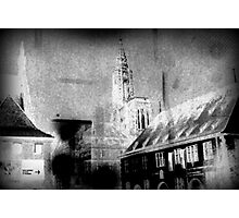 Cathedrale de Strasbourg - imagination & inspiration Photographic Print