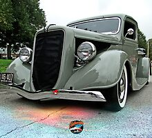 1936 Ford Truck by Earthmonster