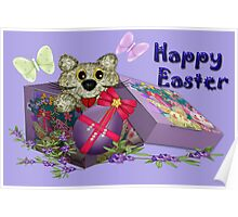 Happy Easter Greetings Poster