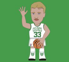 NBAToon of Larry Bird, player of Boston Celtics by D4RK0