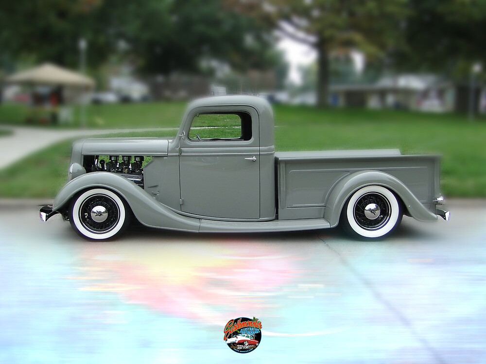 1936 Ford Profile by Earthmonster