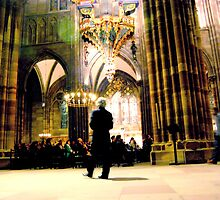 Cathedrale de Strasbourg - a moment for all by deThierry