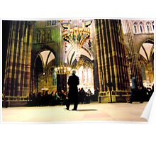 Cathedrale de Strasbourg - a moment for all Poster