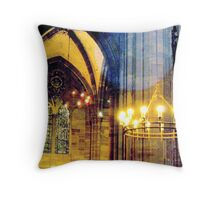 Cathedral of Strasbourg - reaching the high beyond Throw Pillow