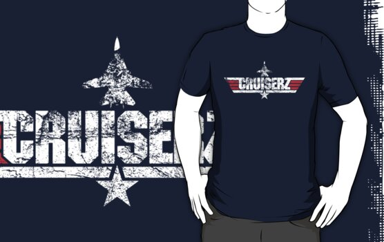 Custom Top Gun Style - Cruiserz by CallsignShirts
