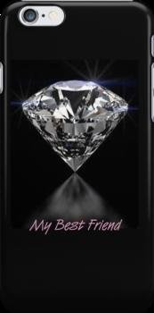 Diamonds iPhone Case by Catherine Hamilton-Veal  ©