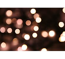 Fairy Lights Photographic Print