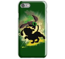 Super Smash Bros. Yellow Duck Hunt Dog Silhouette iPhone Case/Skin