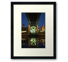 Underneath The Tyne Bridge Framed Print