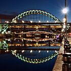 Tyne Bridge At Newcastle by Great North Views
