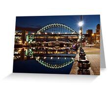 Tyne Bridge At Newcastle Greeting Card