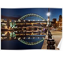 Tyne Bridge At Newcastle Poster