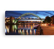 Newcastle Riverside Canvas Print