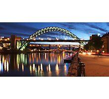 Newcastle Riverside Photographic Print