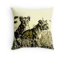 the pride art Throw Pillow
