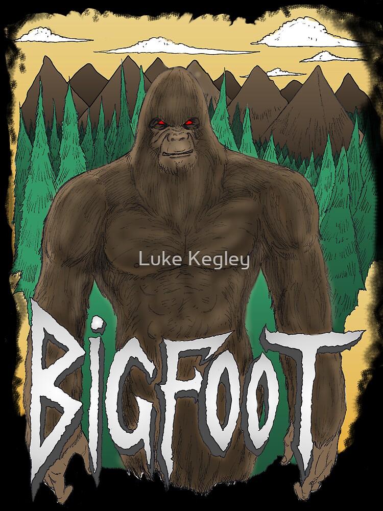 Bigfoot by MetalheadMerch