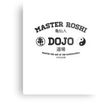 Master Roshi Dojo v1 Metal Print