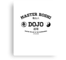 Master Roshi Dojo v1 Canvas Print