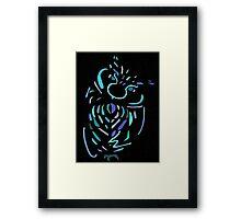 Blue Owl Framed Print