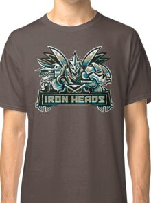 Team Steel Types - Iron Heads Classic T-Shirt