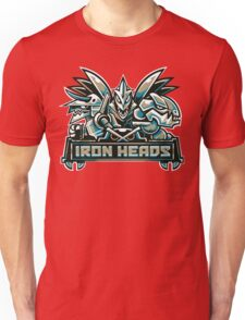 Team Steel Types - Iron Heads Unisex T-Shirt